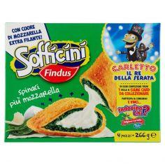 SOFFICINI-Sofficini Findus 4 Sofficini Spinaci Più Mozzarella 266g