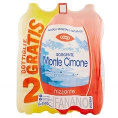 Coop-Sorgente Monte Cimone frizzante 6 x 1500 ml