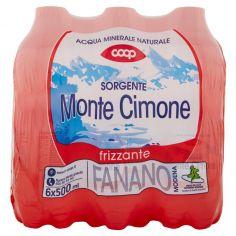 Coop-Sorgente Monte Cimone frizzante 6 x 500 ml