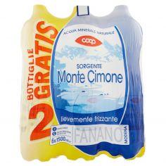 Coop-Sorgente Monte Cimone lievemente frizzante 6 x 1500 ml