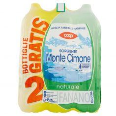 Coop-Sorgente Monte Cimone naturale 6 x 1500 ml