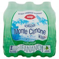 Coop-Sorgente Monte Cimone naturale 6 x 500 ml