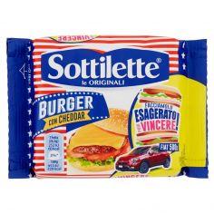 SOTTILETTE-Sottilette Burger con Cheddar 185 g