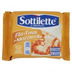 FILA FONDI-Sottilette Fila e Fondi alla Mozzarella 400 g