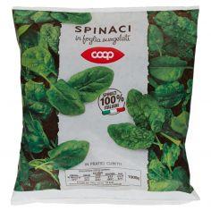 Coop-Spinaci in foglia surgelati 1000 g