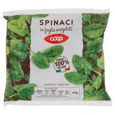 Coop-Spinaci in foglia surgelati 450 g