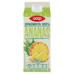 Coop-Spremuta 100% di Ananas 750 ml