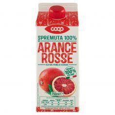 Coop-Spremuta 100% di Arance Rosse 750 ml