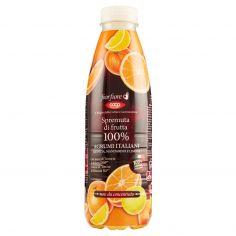 Coop-Spremuta di frutta 100% Agrumi Italiani Arancia, Mandarino e Limone 750 ml