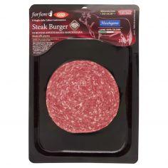 Coop-Steak Burger di Bovino Adulto Razza Marchigiana 210 g