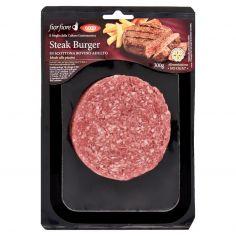 Coop-Steak Burger di Scottona Bovino Adulto 300 g