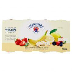 VIPITENO-Sterzing Vipiteno Yogurt Fragola - Banana - Limone - Frutti di Bosco 8 x 125 g