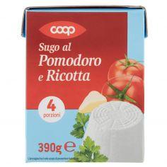 Coop-Sugo al Pomodoro e Ricotta 390 g