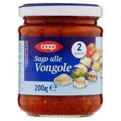 Coop-Sugo alle Vongole 200 g