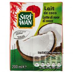 SUZI WAN-Suzi Wan Latte di noce di cocco 200 ml