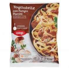 Coop-Tagliatelle con Funghi Porcini Surgelate 550 g