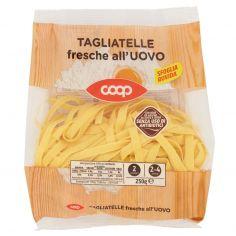 Coop-Tagliatelle fresche all'Uovo 250 g