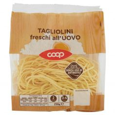 Coop-Tagliolini freschi all'Uovo 250 g