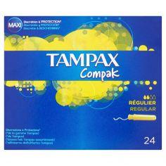 TAMPAX-Tampax Compak Regular 24 tamponi