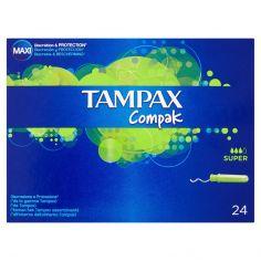 TAMPAX-Tampax Compak Super 24 tamponi
