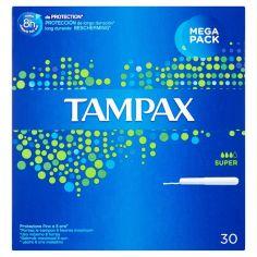 TAMPAX-Tampax Super 30 tamponi