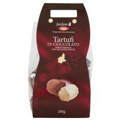 Coop-Tartufi di Cioccolato Nero e Bianco con Nocciole Scelte 200 g