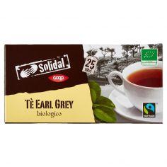 Coop-Tè Earl Grey biologico 25 filtri 50 g