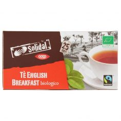 Coop-Tè English Breakfast biologico 25 filtri 50 g