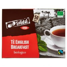 Coop-Tè English Breakfast biologico 50 filtri 100 g