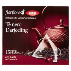 Coop-Tè nero Darjeeling 15 x 2 g