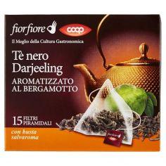 Coop-Tè nero Darjeeling Aromatizzato al Bergamotto 15 x 2 g