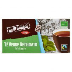 Coop-Tè Verde Deteinato biologico 25 filtri 35 g