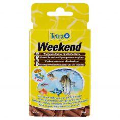 MIN-Tetra Weekend Mangime per il fine settimana adatto a tutti i pesci ornamentali 20 Sticks 18 g