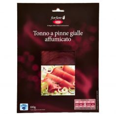 Coop-Tonno a pinne gialle affumicato 100 g