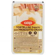 Coop-Tortellini freschi con Prosciutto Crudo 250 g