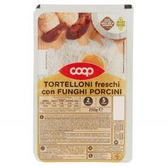 Coop-Tortelloni freschi con Funghi Porcini 250 g