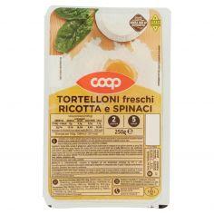 Coop-Tortelloni freschi Ricotta e Spinaci 250 g