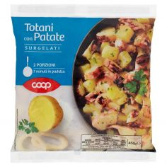 Coop-Totani con Patate Surgelati 450 g