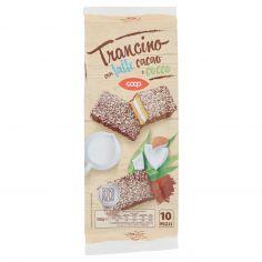 Coop-Trancino con latte cacao e cocco 10 x 35 g
