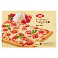 Coop-trancio di pizza margherita surgelato 1 pizza 400 g