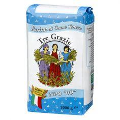 3 GRAZIE-Tre Grazie Farina di grano tenero tipo 00 1 kg