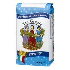 3 GRAZIE-Tre Grazie Farina di grano tenero tipo 0 1 kg