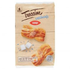 Coop-Treccine zuccherate 6 Pezzi 252 g