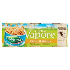 VALFRUTTA-Valfrutta Cotti a Vapore Farro Italiano 3 x 150 g