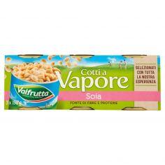 VALFRUTTA-Valfrutta Cotti a Vapore Soia 3 x 150 g