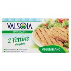 VALSOIA-Valsoia Bontà e Salute 2 Fettine Surgelate 2 x 75 g