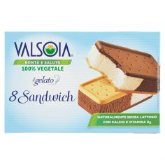 VALSOIA-Valsoia Bontà e Salute il gelato 8 Sandwich 8 x 40 g