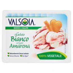 VALSOIA-Valsoia Bontà e Salute il Gelato Bianco variegato Amarena 500 g