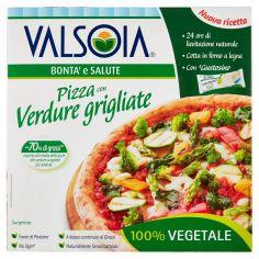 VALSOIA-Valsoia Bontà e Salute Pizza con Verdure grigliate Surgelata 330 g