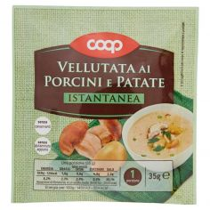 Coop-Vellutata ai Porcini e Patate Istantanea 35 g